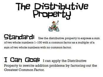Distributive Property On Pinterest