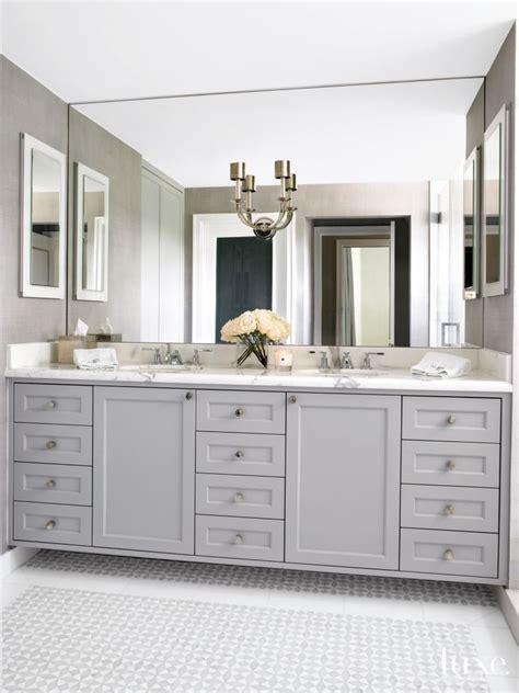 2933 gray bathroom mirror 5 a modern gray bathroom in miami fl a new window allows