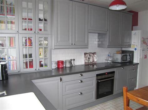 ikea meuble cuisine bas cuisine noyer gris clair ikea