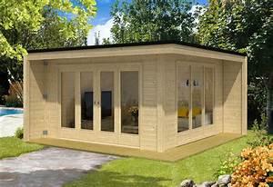 Wochenendhäuser Aus Holz : design gartenhaus cubus capri40 a z gartenhaus gmbh ~ Frokenaadalensverden.com Haus und Dekorationen