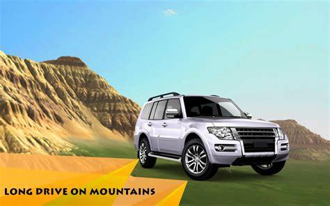 mountain car driving