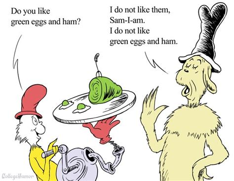 If Green Eggs And Ham Were Realistic