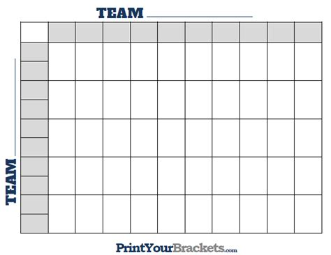 printable ncaa  square grid office pool basketball