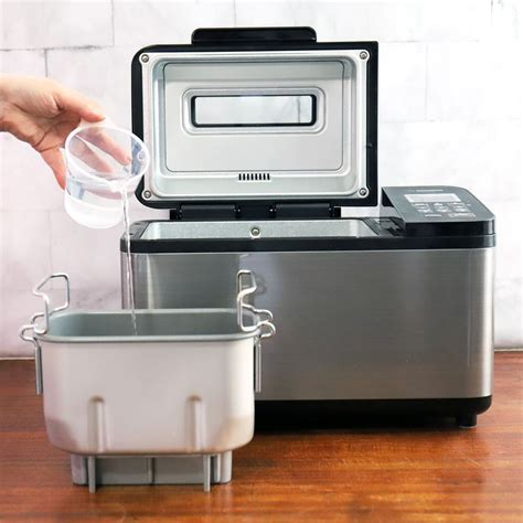 Also in our bread machine recipes, any ingredients listed after the yeast, such as dried fruits or nuts, should be added at the raisin bread cycle if your machine has one. Zojirushi Home Bakery Virtuoso Plus Bread Maker Review in ...