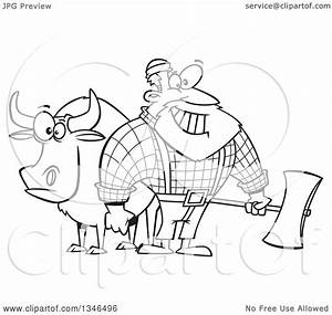 Paul Bunyan And The Blue Ox Coloring Pages Coloring Pages