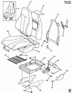 Chevrolet Camaro Guide  Seat Belt  Guide  D  Seat Shldr