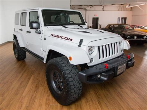 2017 Jeep Wrangler Unlimited Rubicon 4x4 Hard Rock