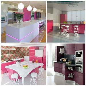 Nice idees deco chambre a coucher 4 cuisine rose optez for Deco cuisine pour chambre À coucher