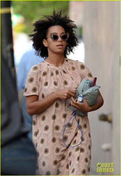 solange knowles emerges   time  leaked jay
