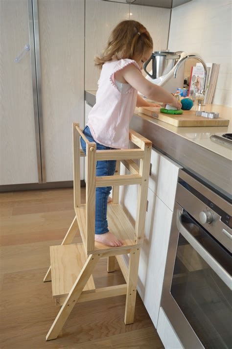 Kitchen Helper Tower Canada by My Helpers Learning Tower Montessori Tower