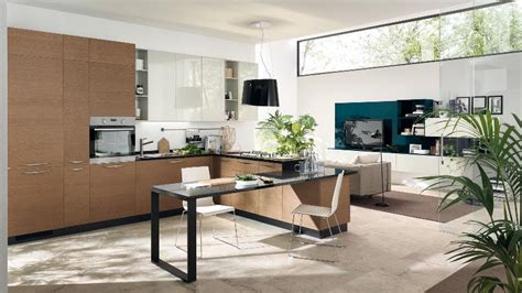small space kitchen living room design contemporary kitchens for large and small spaces 9356
