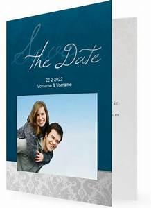 Save The Date Postkarten : save the date postkarten u klappkarten silber blau ~ Watch28wear.com Haus und Dekorationen