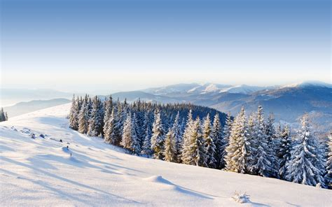 Winter Mountain Landscape 29625 2560x1600 Px