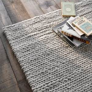 les 25 meilleures idees de la categorie tapis tricote sur With tapis laine tressée