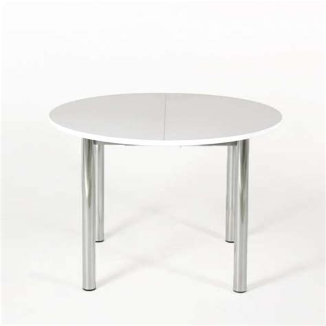 tables rondes cuisine table de cuisine ronde extensible en stratifié lustra