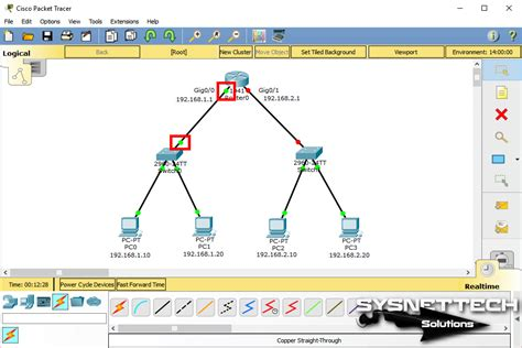 Configure A Network In Cisco Packet Tracer [images+video