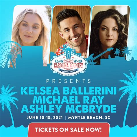 Every year, carolina country music fest® brings 30+ of country music's hottest artist to perform in myrtle beach, sc. Carolina Country Music Fest   June 10 - 13, 2021   Myrtle Beach, SC