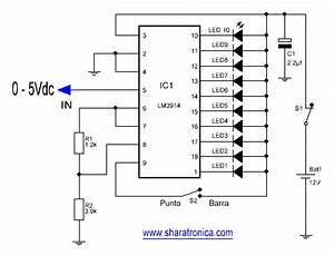 tutorial circuito integrado lm3914 lm3915 kits de With lm3914 datasheet
