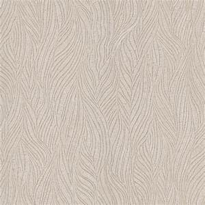 436-5674 Taupe Fabric Texture - Felicity - Brewster Wallpaper