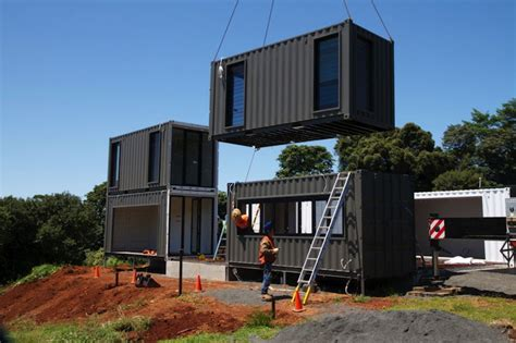 Luxus Container Haus by Luxury Container Home With High End Interior Finishes