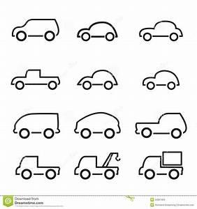 Car Icon Stock Vector Image 54267454