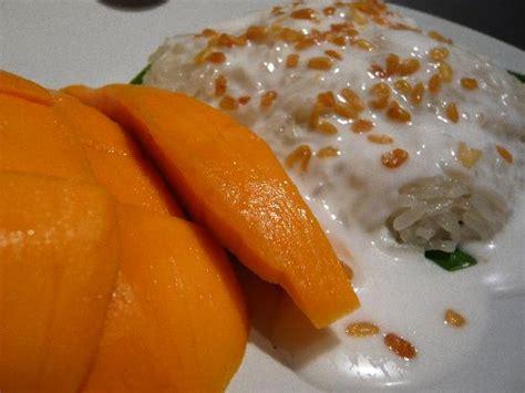 Mango Sticky Rice Dessert