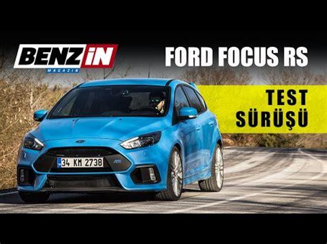 benzin rasenmä test 2017 ford focus rs test s 252 r 252 ş 252 benzin tv 2017