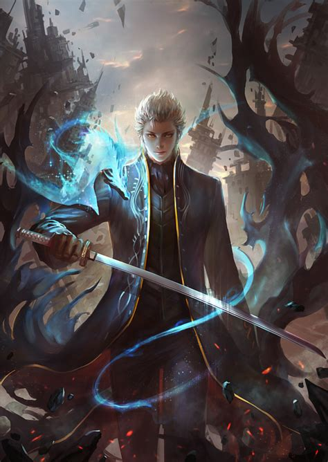 Vergil Devil May Cry Vs Vs Saber Fatestay Night