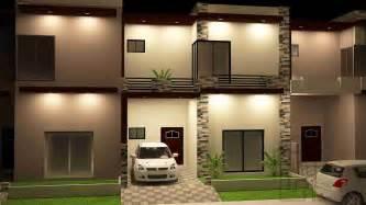 Grey Tiles Living Room by 4 Marla House Plan Design Gharplans Pk