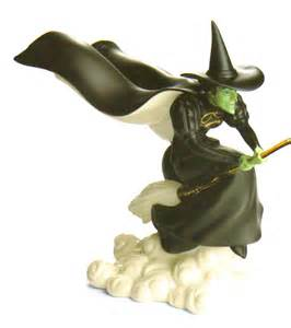 Wizard of Oz Wicked Witch On Broom