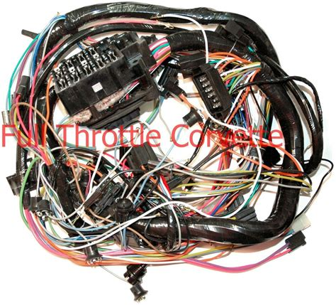 Dash Wiring Harnes by 1974 Corvette Dash Wiring Harness Without A C New Ebay