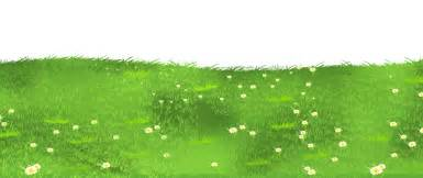 flower basket grass ground with daisies clipart 0 image 10954