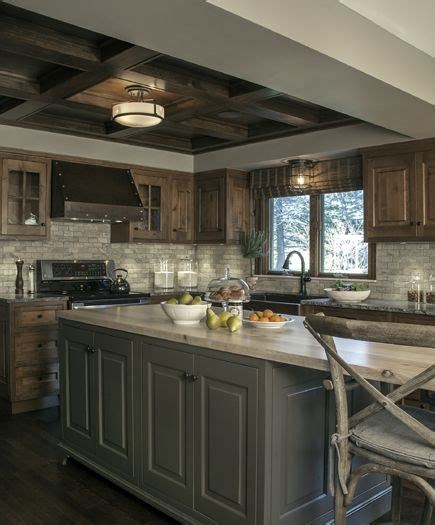 how to install a backsplash in kitchen this custom kitchen brings rustic style to a new level of 9414