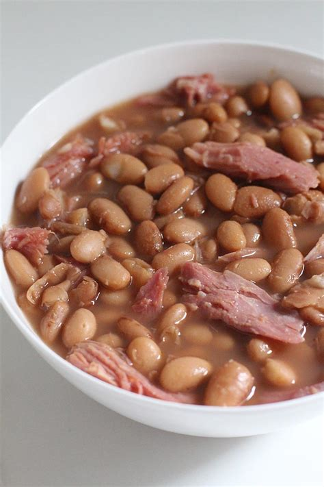 Honestly, there's not a more versatile food than pinto beans. slow cooker pinto beans and ham hocks