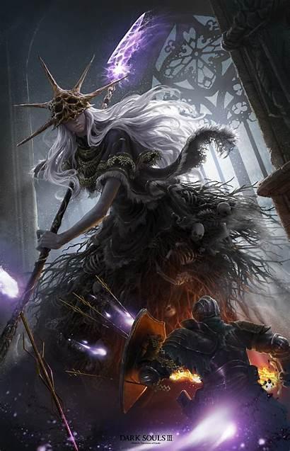 Souls Aldrich Dark Gods Devourer Fan Artstation