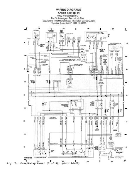 volkswagen golf 3 wiring diagram golf 92 wiring diagrams eng