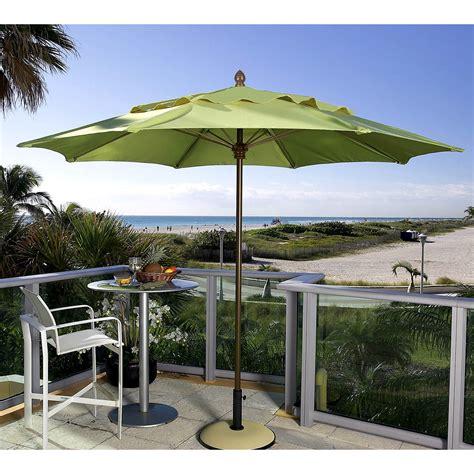 Umbrella Backyard by Fiberbuilt Premium 11 Ft Wind Resistant Aluminum Market
