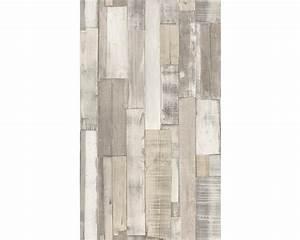 Papier Peint Action : papier peint intiss factory ii aspect bois blanc ~ Melissatoandfro.com Idées de Décoration