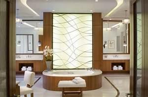Panneau Deco Salle De Bain : design interieur baignoire panneau d coratif meubles salle bains bois meuble salle de bains ~ Melissatoandfro.com Idées de Décoration
