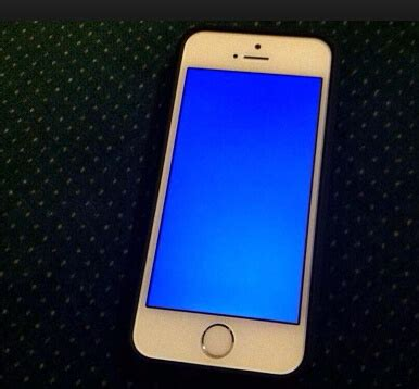 blue screen of iphone 5s iphone 7 se 6s 6s plus 6 plus 6 5s 5c 5 4s 4 blue screen