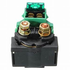 Replacement Starter Relay Solenoid For Kawasaki Bayou 220
