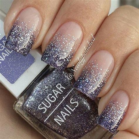 amazing glitter nail designs   pretty designs