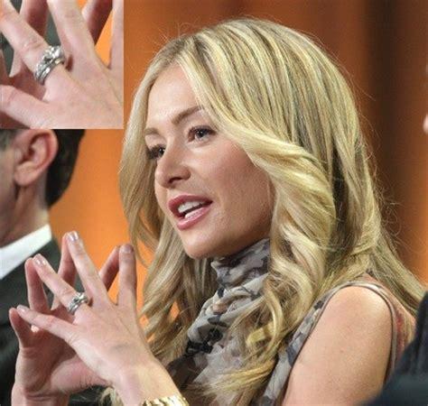 portia de rossi celebrity engagement rings stylebistro