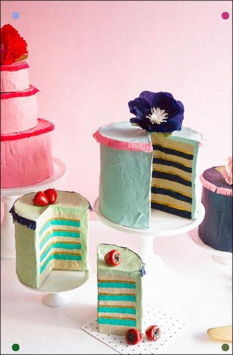 papier mache cakes papier klei knutselen met papier en