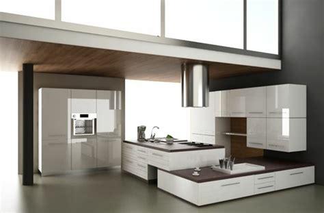 la cuisine moderne blanc élégante et intemporelle
