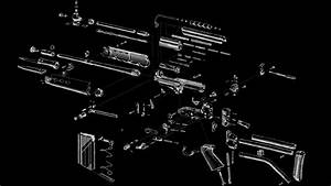 1920x1080 Px Exploded Fn Fal Gun View Diagram High Quality