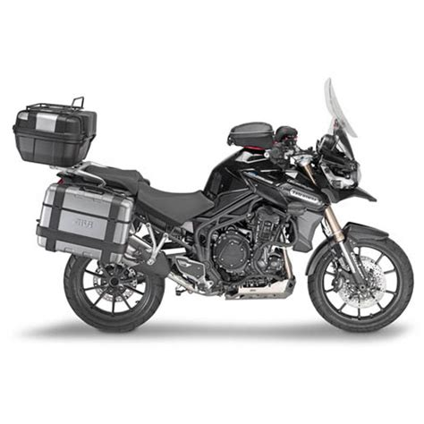 Triumph Tiger Explorer Modification by Givi Sr6403 Monokey Topcase Mounting Kit For Triumph Tiger