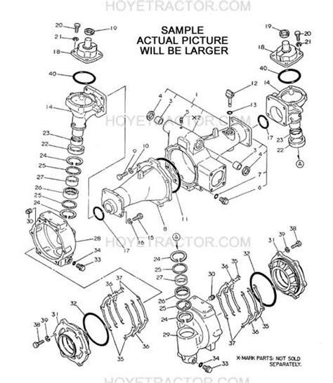 yanmar parts manual japanese tractors yanmar tractor parts