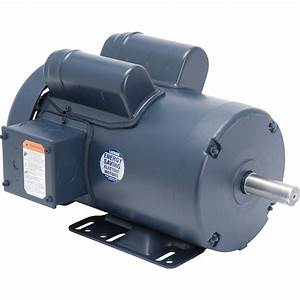Leeson Woodworking Electric Motor  U2014 3 Hp  3450 Rpm  230 Volts  Single Phase  Model  120341