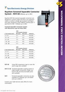 Raychem Screened Separable Connector System Rsti 58